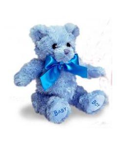 Keel Toys kosebamse 25 cm - blå
