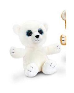 Keel Toys hvit bamse 25 cm