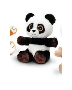 Keel Toys sparkle eyes svart panda 25 cm
