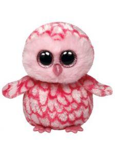 Ty Pinky pink barn owl regular - 15 cm