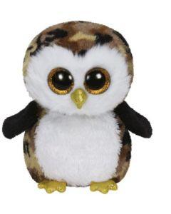 Ty Owliver camouflage owl regular - ca 15 cm