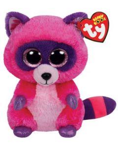 Ty Roxie pink/purple raccoon regular - 15 cm