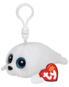 Ty Icy white seal clip - 13 cm