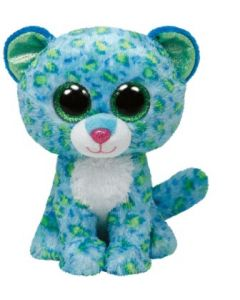 Ty Leona blue leopard regular - ca 15 cm
