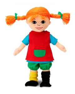 Pippi myk dukke - 30cm