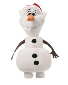 Disney Frozen Olaf With Santa Hat