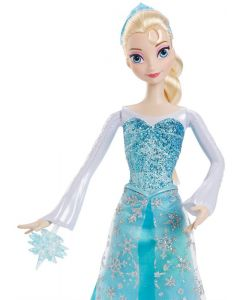 Disney Frozen Action Elsa dukke