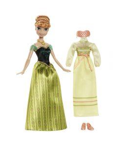 Disney Frozen dukke med moteklær - Anna