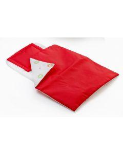 BRIO pute- og dynesett rød