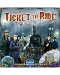 Ticket to Ride United Kingdom - tilleggspakke