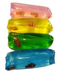 Vannpølse med fisk - assorterte farger