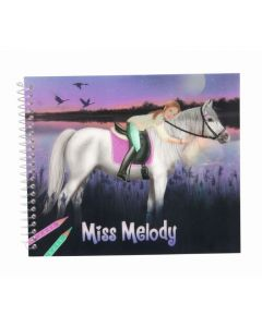 Miss Melody malebok - dress up your horse