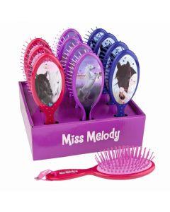 Miss Melody hårbørste - blå