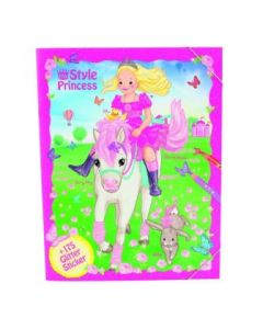 My Style Princess malebok -  create your style princess