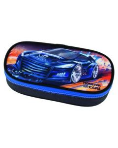 Monster Cars posepennal - blå