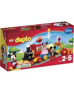LEGO DUPLO 10597 Disney TM Mikke og Minnis bursdagstog
