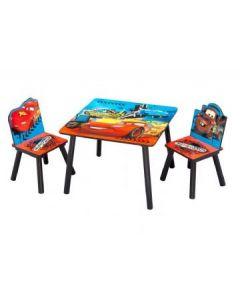 Disney Cars bord og 2 stoler