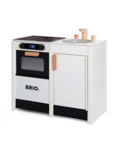 BRIO kjøkken - Komfyr og oppvaskkum