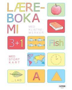 Læreboka mi, lek og lær med klistremerker og utbrettbart kart - aktivitetsbok