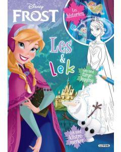 Disney Frozen - Les og lek med klistremerker