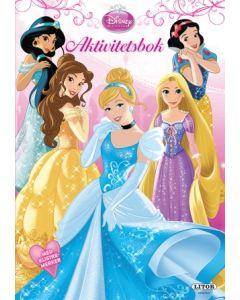 Disney Princess - aktivitetsbok med klistremerker