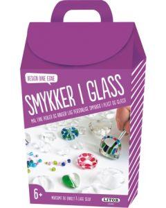 Lag egne glass-smykker - hobbyeske