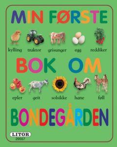Min første bok om bondegården - pekebok