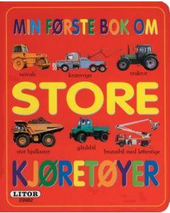 Min første bok om kjøretøyer - pekebok