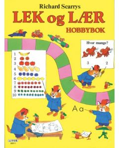 Richard Scarry Lek og lær - aktivitetsbok