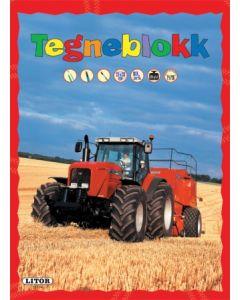 Traktor - tegneblokk
