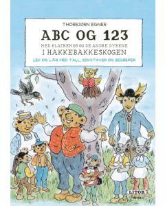 ABC og 123 i Hakkebakkeskogen - lek og lær - aktivitetsbok