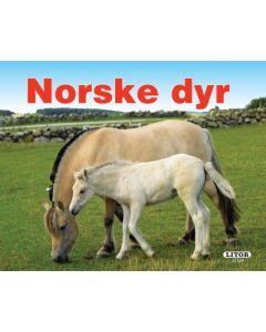 Norske dyr - pekebok