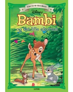 Disney Bambi og det lille ekornet - eventyr