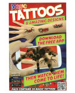 Tattoos  - Tatovering av Edderkopper og andre tøffe kryp og motiver