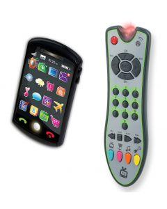 Kidz Delight Zip Zap fjernkontroll til TV + smartphone