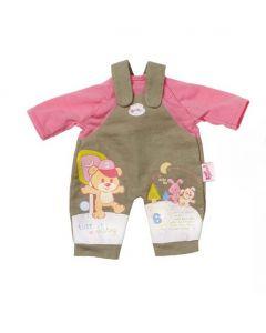 Baby Born Easy Fit kleskolleksjon - kaki bukser