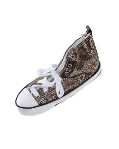 Pennal sneakers 24,5 cm - brun