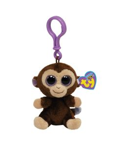Ty Coconut monkey clip - 13 cm
