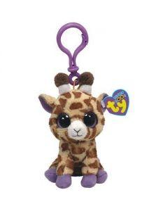 Ty Safari giraffe clip - 13 cm