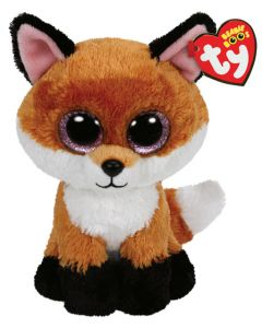 Ty Slick brown fox regular - 15 cm