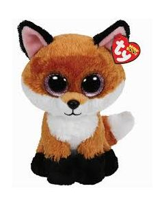 Ty Slick brown fox medium - ca 22 cm