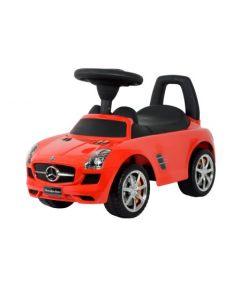 Mercedes lær-å-gå - rød