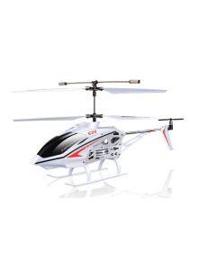 Syma S39 3-kanals helikopter med RC Gyroscope fjerntroll - Hvit