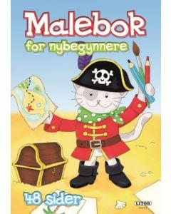 Malebok for nybegynnere - kaptein