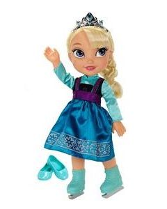 Disney Frozen Elsa dukke - 36 cm - ice skating