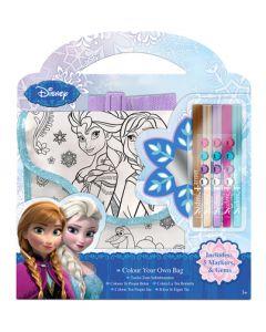 Disney Frozen veske med tusjer