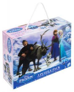 Disney Frozen 3D puslespill