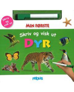 Cappelen Damm aktivitetsbok - Skriv og visk dyr fri