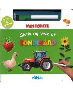 Cappelen Damm aktivitetsbok - Skriv og visk bondegård fri