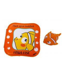 Rebus badebok - Frida fisk